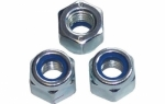 Nylon Insert Nut Type P Zinc Plated DIN982