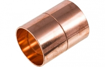 Endfeed Straight Coupling Copper x Copper (EF1)