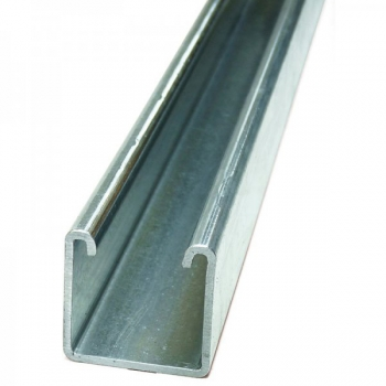 Pre Galvanised Channel Plain 41 x 41 x 2.5