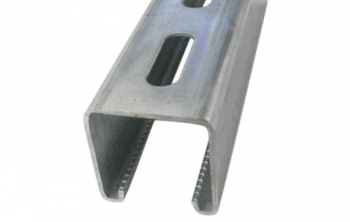 Unistrut Stainless Channel Slotted 3M Length
