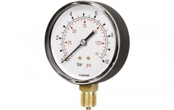 Pressure Gauge (100mm) Black Case