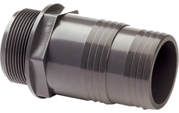 Male Hose Adaptor BSP x Inch Hose Tail