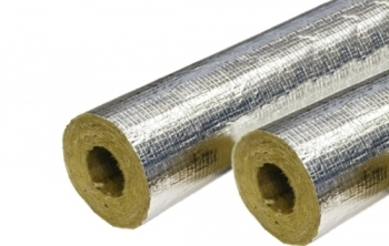 Foil Covered Rockwool Lagging 25mm x 1.0M