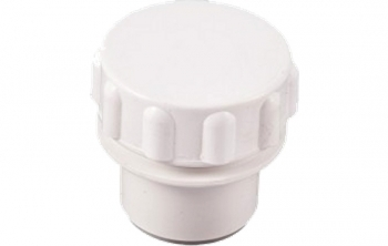 Solvent White Access Cap