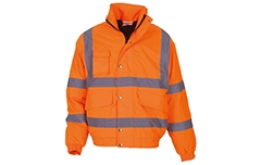 Hi-Vis Classic Bomber Jacket (Yellow & Orange)