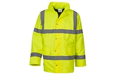 Hi-Vis Classic Motorway Jacket (Yellow & Orange)