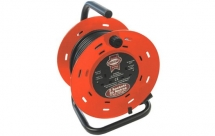 Cable Reel Twin Outlet 240V 25mtr 13A Open Frame FPPCR25M