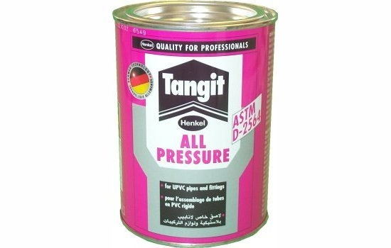 Tangit Solvent Cement For PVC 500g Tin