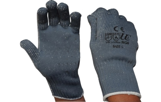 Glove Heavy Duty Nylon Large with Cotton Liner NG6