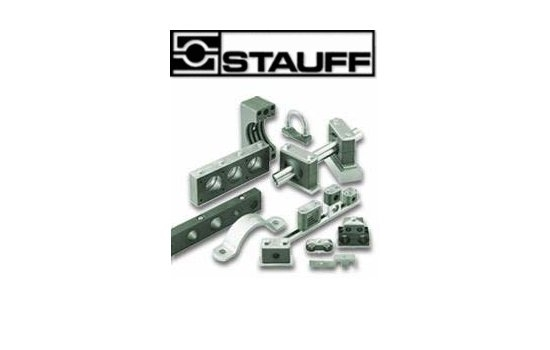 Stauff Flange SAE 1.1/2 Rated 3000PSI CFS106-GAS