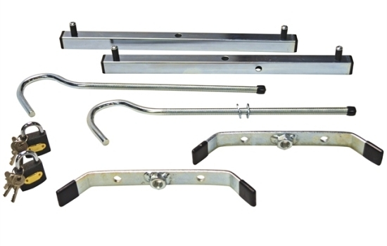 Roof Rack Ladder Clamps Including Padlocks