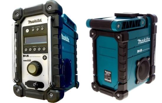 Makita DMR104 DAB Site Radio Blue