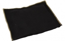 Black Plumbers Thermal Protection Pad 12 x 10inch
