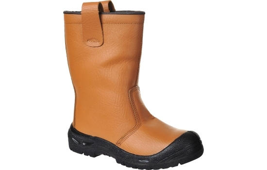 Portwest FW29 Rigger Boot Lined, Brown, S3, Size 10/44