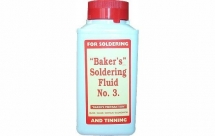 Bakers Soldering Fluid No3 250ml