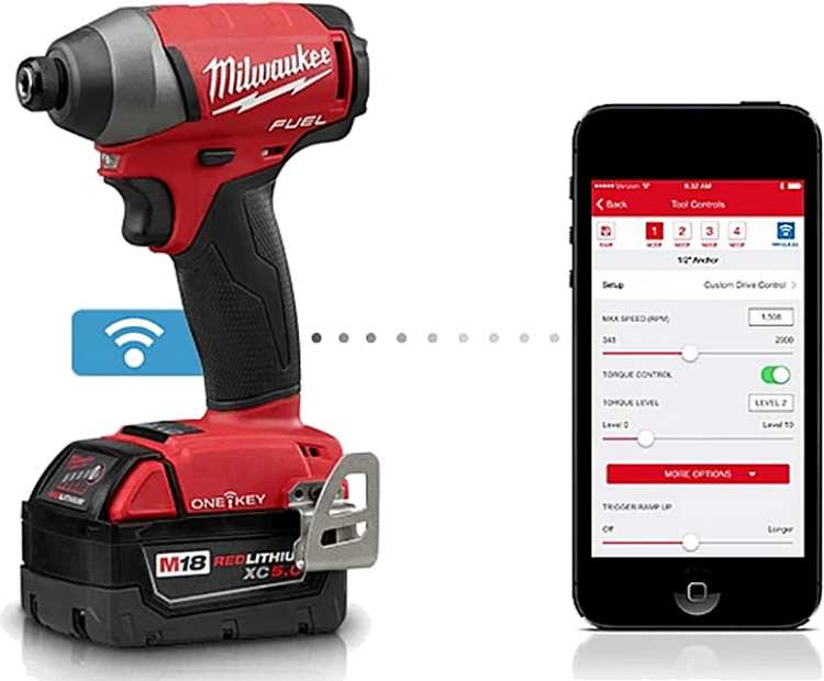 Milwaukee One Key tool safe App